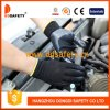 Ddsafety 2017 Grey Nylon Shell Black Nitrile Coated Work Glove