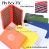 Super Slim color plastic fly fishing box