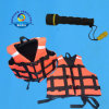 Luminous Orange Color Foam Life Jacket with 3 Adjustable Belts