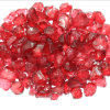 Red Fire Pit Filler Glass