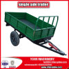 Single Shaft Farm Tractor Trailer 3tons