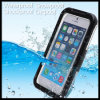 Plastic + Silicon Waterproof Mobile Cell Phone Case Cover for iPhone