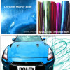 Glossy Blue Chrome Film, Car Wrap, Car Sticker Vinyl 3 Layers Added Protective Film (YP-6136)