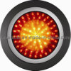 4′′ Round LED Stop Tail Indicator Lamp Truck Trailer