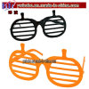 Fashion Sunglasses Pumpkin Shutter Shading Glasses Business Gifts (PG2053)
