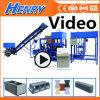 Qtj4-20 Automatic Vibration Concrete Block Making Machine Solid Brick Machine