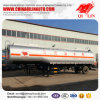 Tri-Axle Compartment Optional Lubricating Oil Tanker Semi Trailer