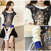Wholesale Fahsion Printed Women Hoodies Knitted Sweater