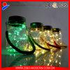 Mason Jar Manufacturer Outdoor Solar Powered LED Glass Mason Jar