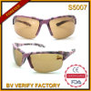 S5007 Latest Designed Camo Pattern Half Frames Sports Sunglass