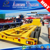 Heavy Duty Tank Container Transporting Low Bed Trailer