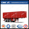 High Tensile Steel 3axle Van Coal-Carrying Semi Trailer