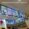 LED Display Board and LED Billboard for Menu Board for Eatery and Restaurant Fast Food Display