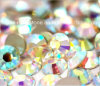 Ss8 Crystal Ab Color Nail Art Stones Flat Back Glass Rhinestones