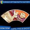China Supplier OEM Logo Printing Gift Metal Lapel Pins