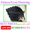 "2′x2′x1"" Heavy Duty Recycled Commercial Rubber Gym Flooring Tiles Floor"