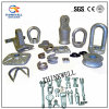 Steel Eyelets Oval Eye Nuts Electric Power Fitting Rigging