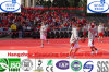 Non Toxic PP Modular Outdoor Basketball Court Floor