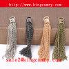 Metal Chain Tassel with Cap Tassels Necklace Metal Chain Tassels