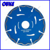 Hot Pressed Dry Cutting Diamond Segment Saw Blade