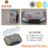 Transparent Plastic Double Side Fly Fishing Box