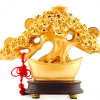 Resin Wealth Tree Pachira Macrocarpa Ornament