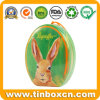 Custom Easter Tin Box for Metal Can Gift Packaging