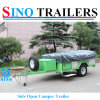Luxury Folding Camper Trailer with Canvas Tent