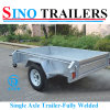 7X5 Single Axle Farm Box Trailers in Smart Price