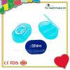 3 Compartments Medication Pocket Plastic Pill Box