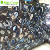 Different Shape Irregular Beautiful Blue Agate Natural Marble Slab