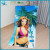 Wholesale 100% Cotton Velour Reactive Printing Sexy Beach Towel