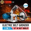 "pH 427 X 12"" Wheel 2"" X 82"" 2800r/Min Grinder Constant Speed Flat Platen Machine 2 HP Belt Grinder"