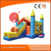 2017 Inflatable Funny Castle Combo with slide (T3-201)