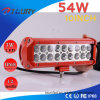 54W Auto Work Light Spotlight Offroad for Car LED Lighting Bar