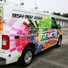 Custom Vehicle Car Wrap Printed Self Adhesive Free Vinyl Wrap