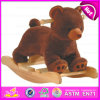 Wooden Balance Rocking Toy, Popular Wooden Rocking Toy, Giocattolo a Dondolo, Wooden Rocking Bear Toy, Wood Rocking Toy W16D073
