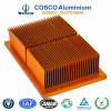 Custom Anodized Aluminum Radiator/Heat Sink with ISO9001 Certified