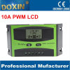 PWM Auto for Home system Solar charge controller with LCD screen 10A 12/24V