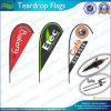Outdoor Custom Teardrop Flags for Advertising/Teardrop Banners (L-NF04F06064)
