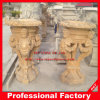Antique Granite Sculpture Carving/Garden Carving/Flowerpot for Garden