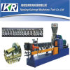 Plastic Granules Making Machine Masterbatch Compounding Twin Screw Extruder