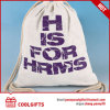 Promotional Gift Recycle Canvas Drawstring Bag, Cotton Bag