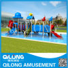 Water Park Plastic Slide for Sale (QL-150706D)
