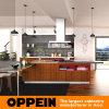 Contemporary Brown PVC Modular Kitchen Furniture (OP15-PVC02)