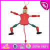 2016 New Style Kid Toy Wooden String Puppet, New Fashion Wooden Pull Toy Puppet, Best Sale Kid Wooden Puppet W02A056