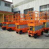 Manual Movable Scissor Working Lift Table for Aerial Man Working