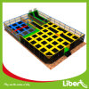 Liben with Basketball Set Indoor Rectangle Trampoline Park