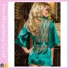Fashion Sexy Lingerie Costume Kimono Lace Pajamas (58190-1)