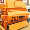 Twin Shaft Cement Mixer Hopper Lift Concrete Mixer Js2000